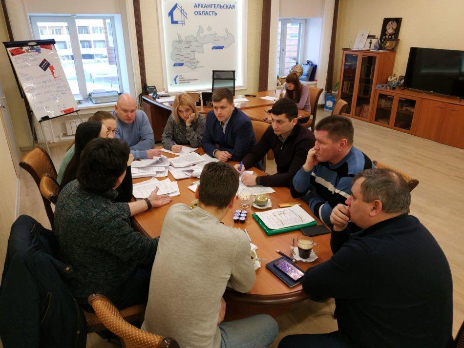 Союз профессиональных строителей изучил положение дел на стройплощадках ООО «Белый дом»