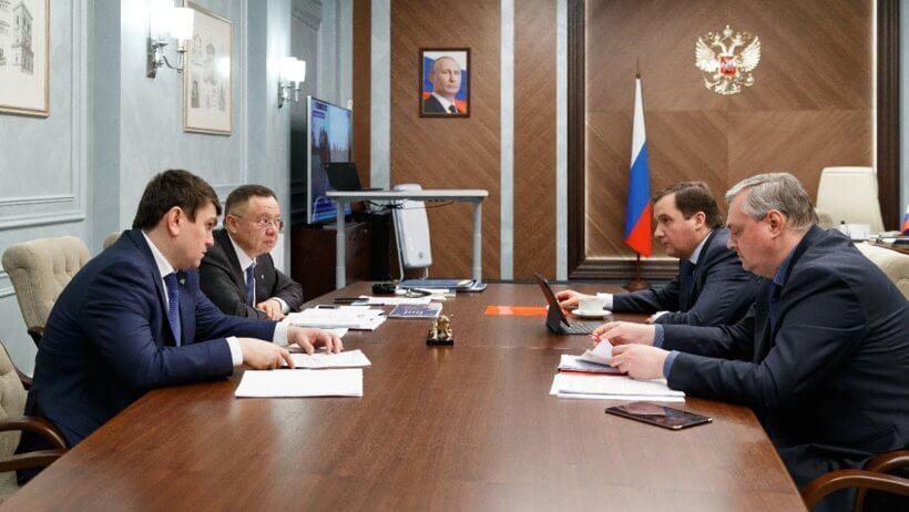 В Москве прошла встреча главы Минстроя РФ с губернатором Поморья